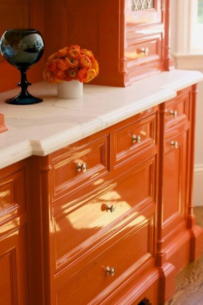 coral kitchen cabinet colors 20 {Great} Shades of Orange Wall Paint {and Coral, Apricot