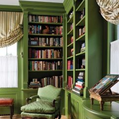 Green Paint Colours For Living Rooms Decorating A Large Room With Fireplace 9 Fabulous Shades Of One Common Mistake Charles Spada Library Colors