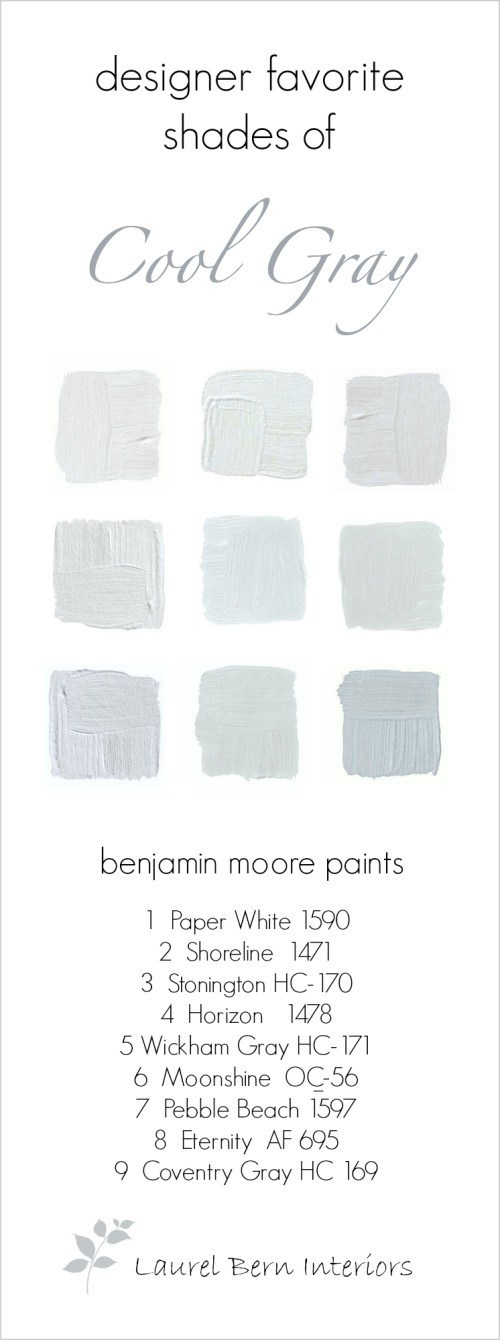 cool chairs for teens cloth chair covers weddings 9 fabulous benjamin moore gray paint colors | laurel home