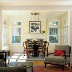Paint Colors For Living Room With Dark Wood Trim Red Color The Stained Stays 16 Wall To Make It Sing Fair Light Yellow Home Interior Design Craftsman Dining