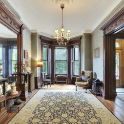 Paint Colors For Living Room With Dark Wood Trim Drapes Pinterest The Stained Stays 16 Wall To Make It Sing Victorian Brownstone