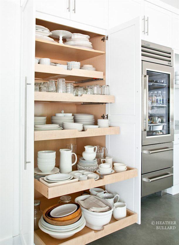 clever kitchen storage ideas for the new unkitchen | laurel home