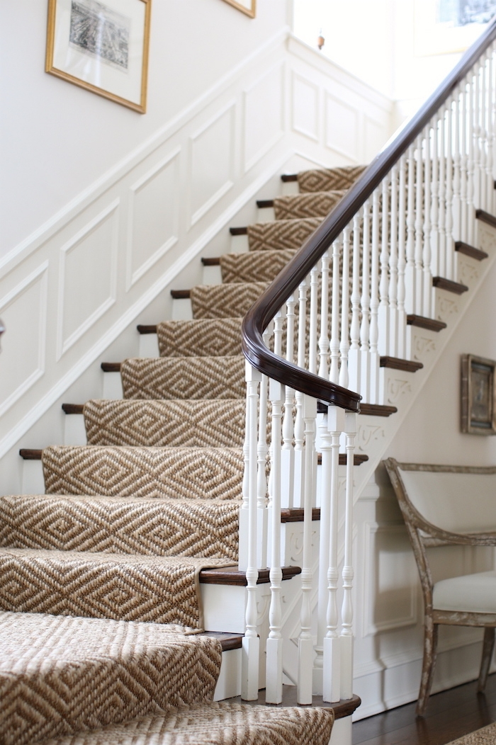 3 Common Staircase Design And Decor Mistakes What To Do Instead   White Handrails For Stairs Interior   Indoor   House   Exterior   Spiral   White Metal