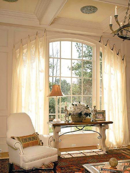 curtain ideas for large windows in living room remodels window treatments difficult what you must never do 8a685a6e2a50e924256b56dbae55068f