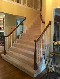A Bad Fiber For A Stair Runner+A Difficult Staircase ...