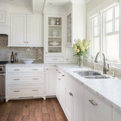 Kitchen Cabinets White Custom Sinks 12 Of The Hottest Trends Awful Or Wonderful Laurel Home Liz Schupanitz Painted In Benjamin Moore Simply