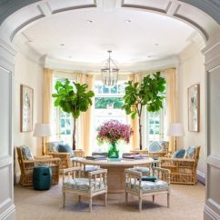 Warm Color Schemes For Living Rooms Combinations Room Will My Paint Palette Look Dated In Five Years Laurel Home With Cool Blue Accents By Miles Redd Via Architectural Digest