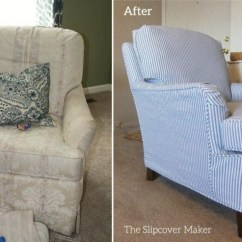 Slipcovers For Living Room Chair Modern Conference Chairs My Is A Mess But I Can T Afford New Upholstery Laurel Home Drexel Before After Slipcover