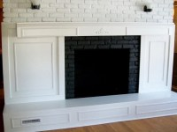 My Husband Loves Our Ugly Brick Fireplace | Laurel Home