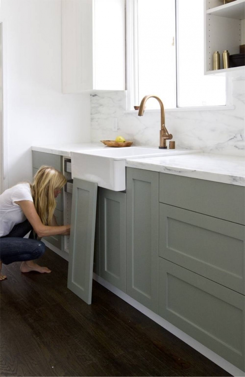 gray kitchen floor barn wood table 12 farrow and ball cabinet colors for the perfect english sarah sherman samuel