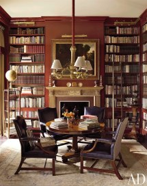 Antique Home Library