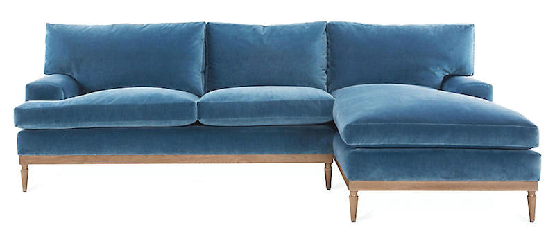 stain proof sofa fabric davis bed the best upholstery fabrics and some you should never use laurel home one kings lane sutton right facing sectional harbor blue velvet