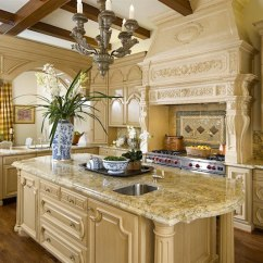French Country Kitchens Unpainted Kitchen Cabinets He Loves The Phony Laurel Home Horrible Over Top Ersatz Meaning Fake