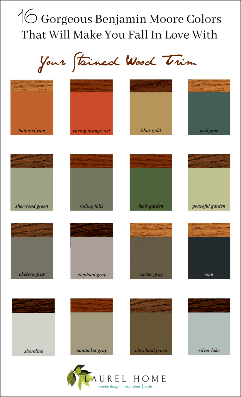 Two Colours That Make Brown : colours, brown, Stained, Stays, Colors, Laurel
