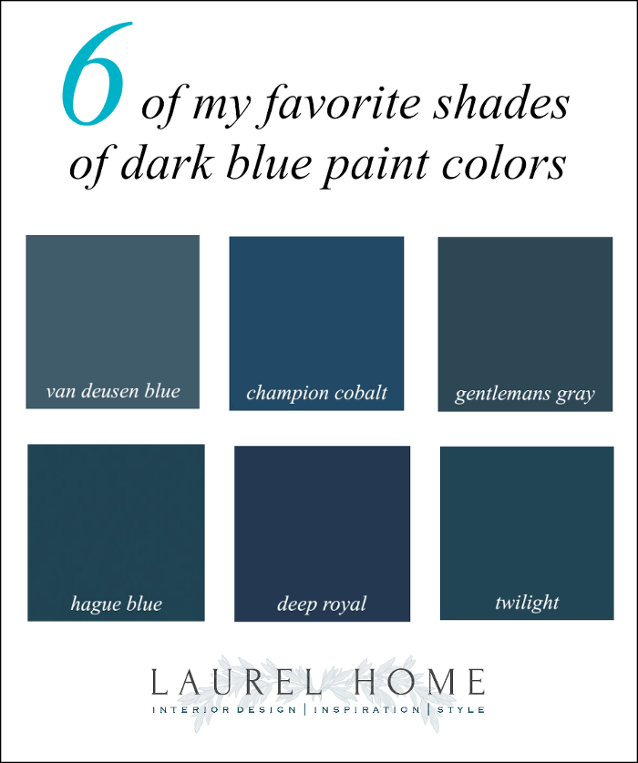 Do The Best Dark Blue Paint Colors Give You The Blues Laurel Home