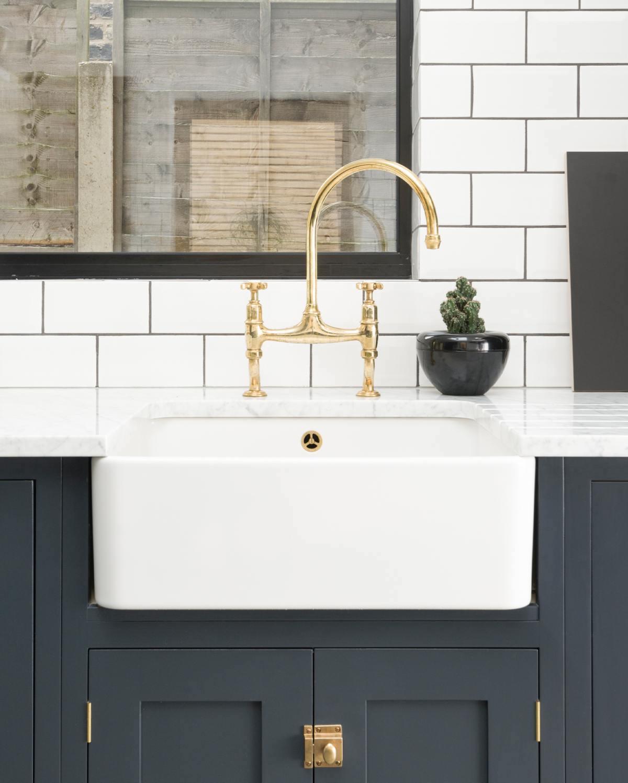classic sinks devol bridge faucet