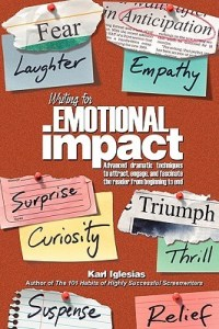 book cover for Karl Inglesias' Writing for Emotional Impact