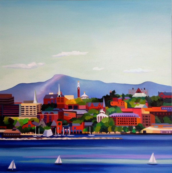 Work 2015- 2017 Oil Paintings Laurel Waters