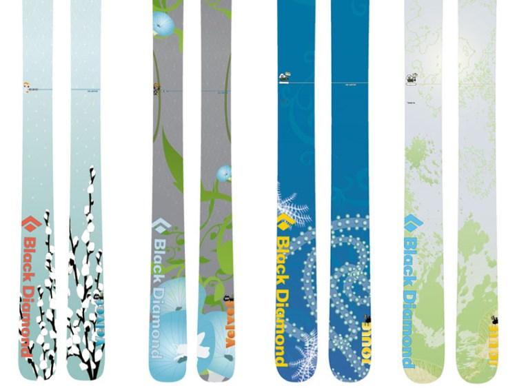 Women's Ski graphics