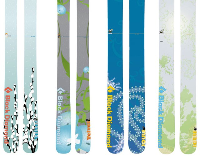 Women's Ski graphics