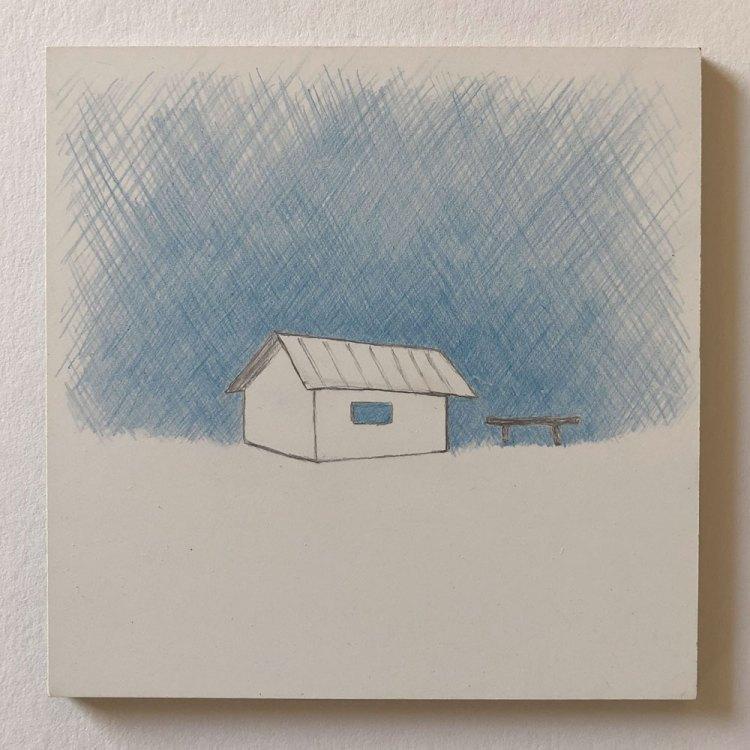 shack drawing
