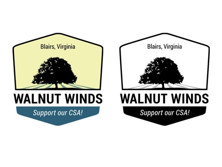 Walnut Winds Logo - badge