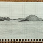 Drawing of island