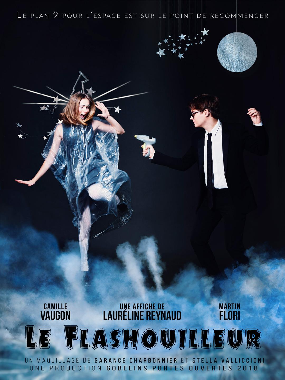 Le Flashouilleur: affiche principale par Lauréline Reynaud