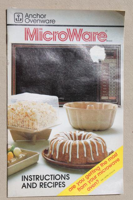 Hocking Microwave Cookware Anchor Pm481