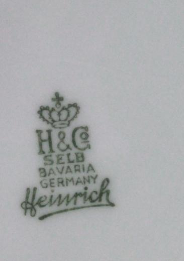 Bavarian Pottery Marks Identification