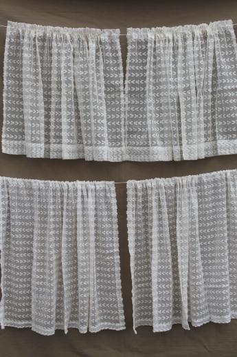 dotted swiss curtains
