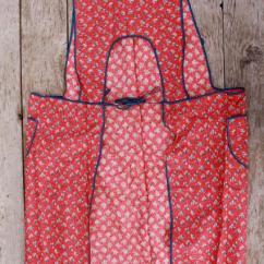 Rugs For Kitchen Whiteboard Depression Era Vintage Print Cotton Feedsack Aprons, Farm ...