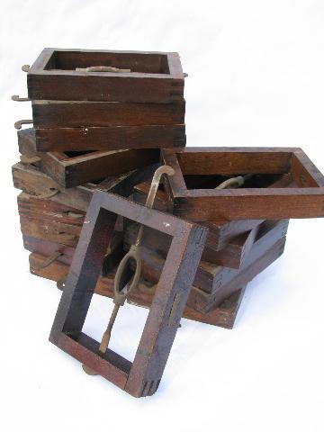 Antique Bed Rail Hardware
