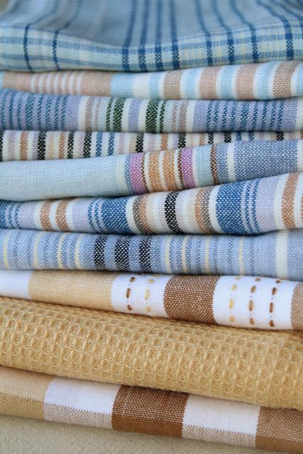 kitchen dish towels tile countertops lot unused vintage cotton dishtowels cloths tea towel drying