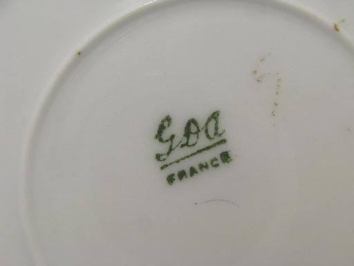 Marks Gold Porcelain