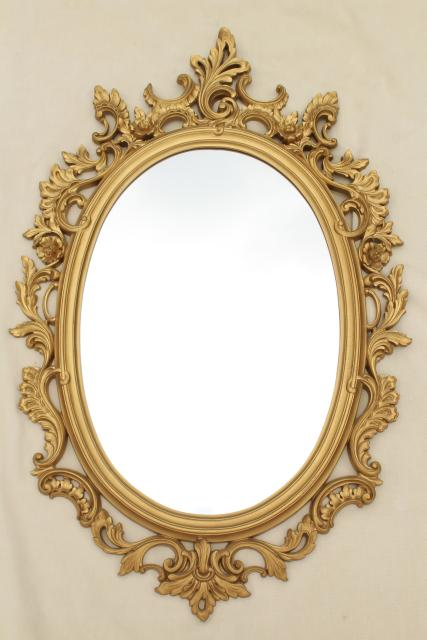 Raphael Rozen Classic Framed Antique Style Wall Mirror