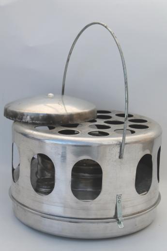Vintage Wards Dana Portable Safety Heater White Gas