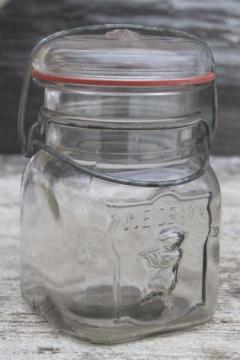 kitchen storage canisters ceramic tile design old antique glass bottles and jars