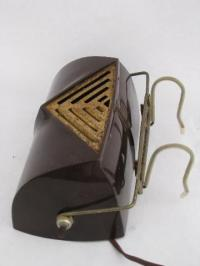 vintage bed light headboard reading lamp, old brown shade ...