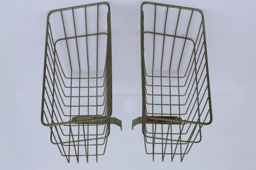 Wall Mount Wire Magazine Basket