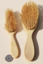 vintage vanity hand mirrors hair