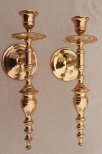 Vintage Candle Sconces