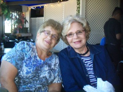 Mom and Julie:; August 2016