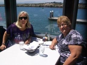 Julie's Best Birthday EVER: Crow's Nest, Santa Cruz, 5 August 2016