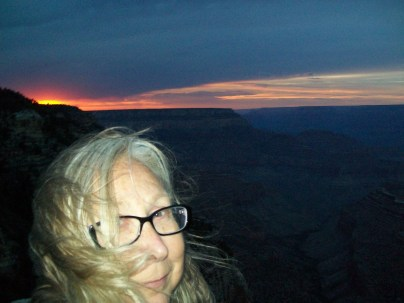 Grand Canyon sunset at Grand View; August 2016