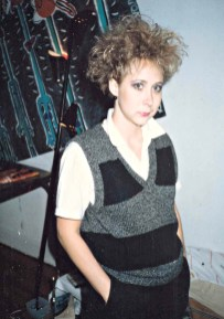 Working on blue chip clients during the day, punk at night; Chicago, mid-1980s