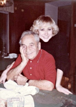 """During college with the Italian grandfather, Nick, of my boyfriend. I learned how to make homemade gnocchi from Nick and """"Nonna""""."""