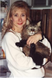 December 1989 in New Hampshire staying with my boyfriend's ex-wife