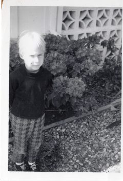 Yep, a tomboy ~ about 3 years old
