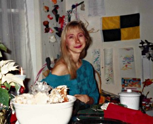 Dec 1990 ~ You can see how ill I am by looking at my bones